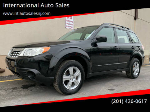 2011 Subaru Forester for sale at International Auto Sales in Hasbrouck Heights NJ