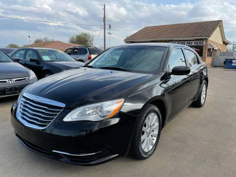 2013 Chrysler 200 for sale at CityWide Motors in Garland TX