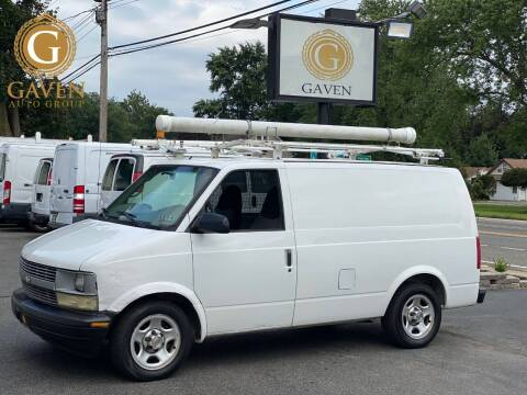 2004 Chevrolet Astro Cargo for sale at Gaven Auto Group in Kenvil NJ
