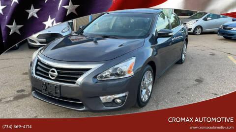 2013 Nissan Altima for sale at Cromax Automotive in Ann Arbor MI