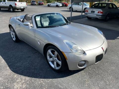 2006 Pontiac Solstice for sale at Hillside Motors in Jamestown KY