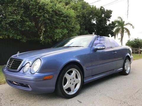 2001 Mercedes-Benz CLK for sale at LA Motors Miami in Miami FL