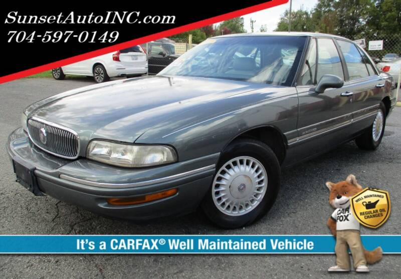 1999 Buick LeSabre for sale at Sunset Auto in Charlotte NC