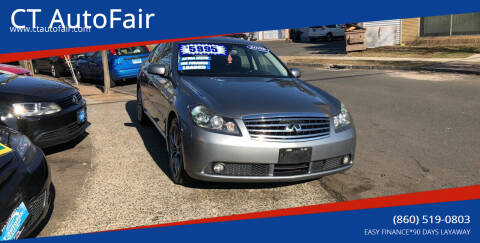 2006 Infiniti M35 for sale at CT AutoFair in West Hartford CT