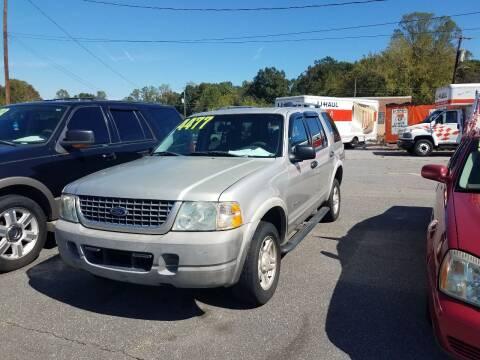 2002 Ford Explorer for sale at Wheel'n & Deal'n in Lenoir NC