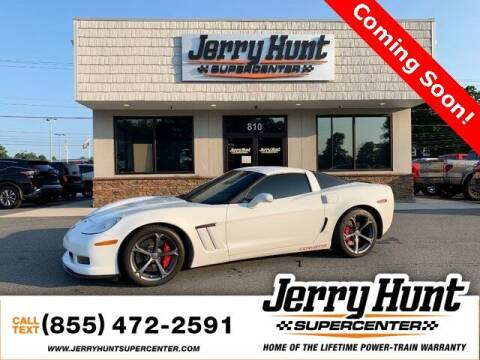 2012 Chevrolet Corvette for sale at Jerry Hunt Supercenter in Lexington NC