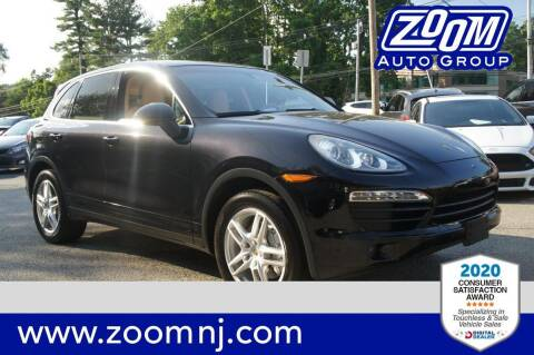 2012 Porsche Cayenne for sale at Zoom Auto Group in Parsippany NJ