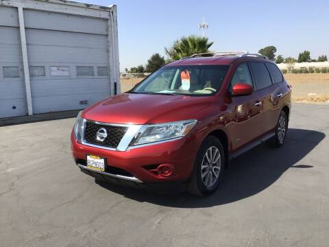 2014 Nissan Pathfinder Hybrid for sale at My Three Sons Auto Sales in Sacramento CA