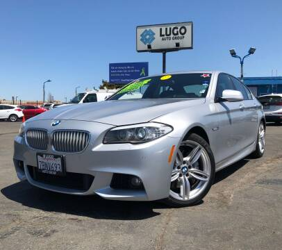 2013 BMW 5 Series for sale at LUGO AUTO GROUP in Sacramento CA