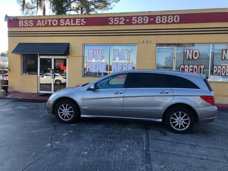 2007 Mercedes-Benz R-Class for sale at BSS AUTO SALES INC in Eustis FL