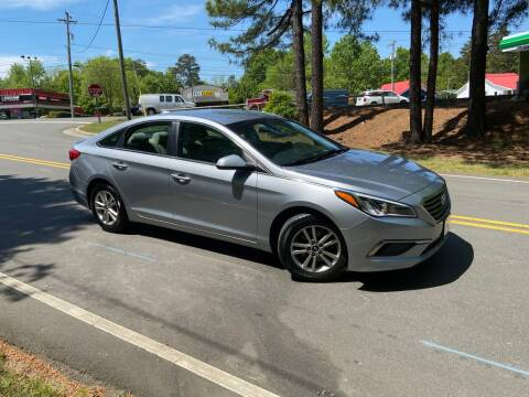 2017 Hyundai Sonata for sale at THE AUTO FINDERS in Durham NC