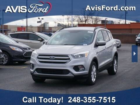 2018 Ford Escape for sale at Work With Me Dave in Southfield MI