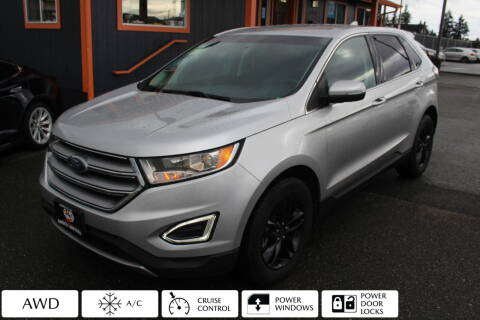 2017 Ford Edge for sale at Sabeti Motors in Tacoma WA