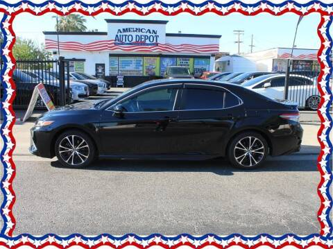2018 Toyota Camry for sale at American Auto Depot in Modesto CA
