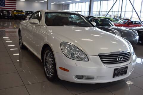 2004 Lexus SC 430 for sale at Legend Auto in Sacramento CA