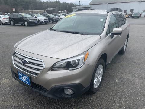2017 Subaru Outback for sale at Ripley & Fletcher Pre-Owned Sales & Service in Farmington ME