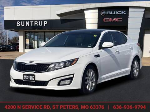 2015 Kia Optima for sale at SUNTRUP BUICK GMC in Saint Peters MO