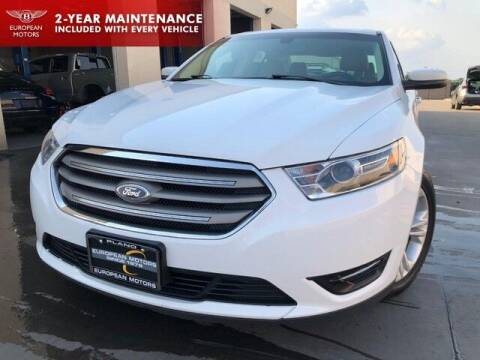 2016 Ford Taurus for sale at European Motors Inc in Plano TX