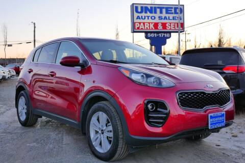 2018 Kia Sportage for sale at United Auto Sales in Anchorage AK