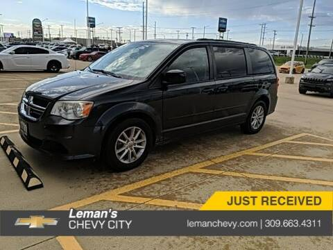 2014 Dodge Grand Caravan for sale at Leman's Chevy City in Bloomington IL