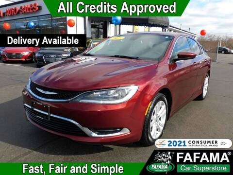 2015 Chrysler 200 for sale at FAFAMA AUTO SALES Inc in Milford MA