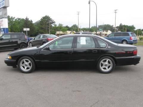 1995 Chevrolet Impala for sale at MCQUISTON MOTORS in Wyandotte MI