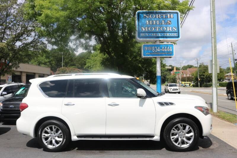 2013 Infiniti QX56 for sale at North Hills Motors in Raleigh NC