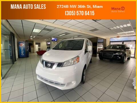 2015 Nissan NV200 for sale at MANA AUTO SALES in Miami FL
