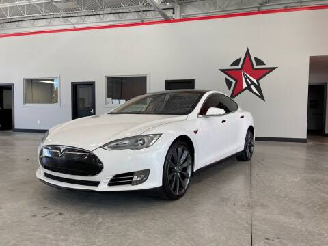 2013 Tesla Model S for sale at CarNova - Shelby Township in Shelby Township MI