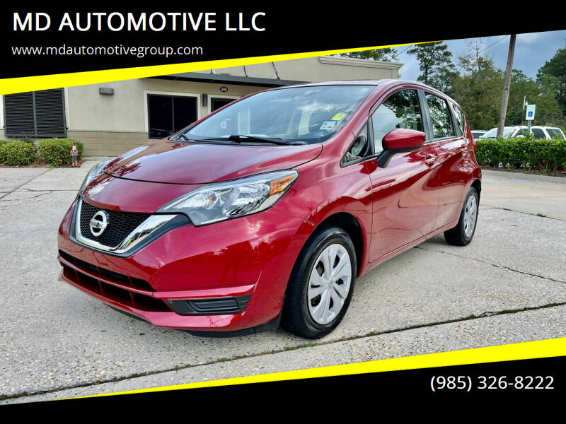 2018 Nissan Versa Note for sale at MD AUTOMOTIVE LLC in Slidell LA