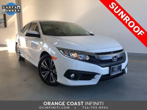 2017 Honda Civic for sale at ORANGE COAST CARS in Westminster CA