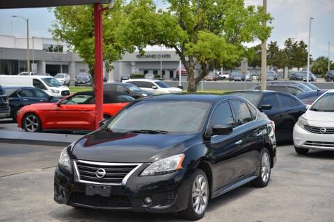 2014 Nissan Sentra for sale at Motor Car Concepts II - Colonial Location in Orlando FL
