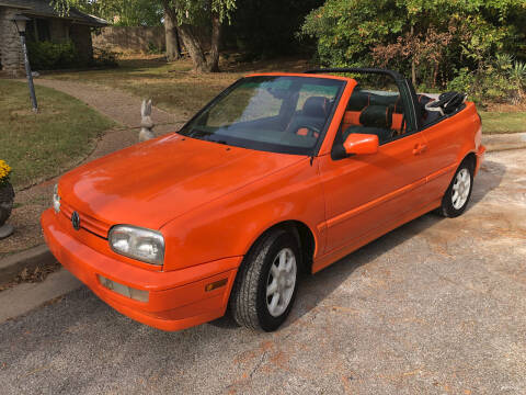 1999 Volkswagen Cabrio for sale at Finish Line Motors in Tulsa OK