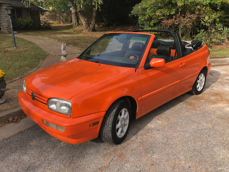 1999 Volkswagen Cabrio for sale at Finish Line Motors in Tulsa OK