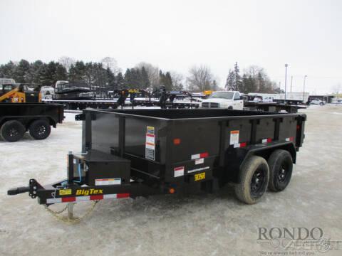 2021 Big Tex Dump 90SR-12BK7SIR for sale at Rondo Truck & Trailer in Sycamore IL