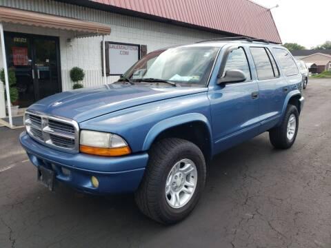 2003 Dodge Durango for sale at Salem Auto Sales in Salem VA
