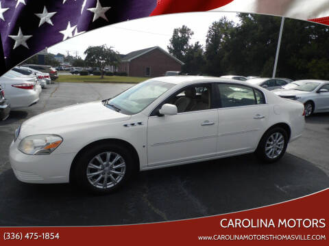 2009 Buick Lucerne for sale at CAROLINA MOTORS in Thomasville NC