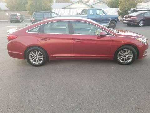 2015 Hyundai Sonata for sale at Freds Auto Sales LLC in Carson City NV