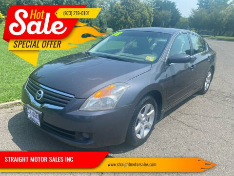 2008 Nissan Altima for sale at STRAIGHT MOTOR SALES INC in Paterson NJ