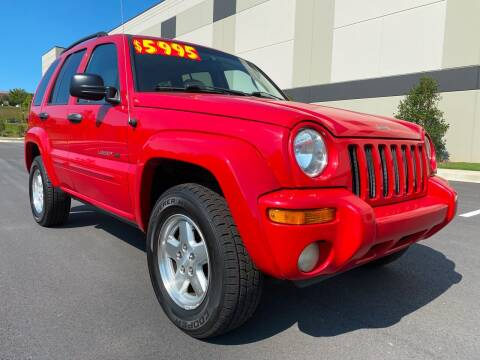 2002 Jeep Liberty for sale at ELAN AUTOMOTIVE GROUP in Buford GA