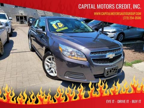 2013 Chevrolet Malibu for sale at Capital Motors Credit, Inc. in Chicago IL