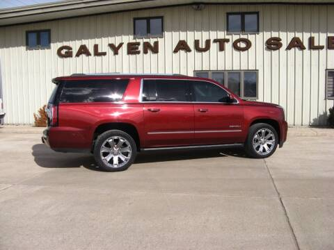 2017 GMC Yukon XL for sale at Galyen Auto Sales Inc. in Atkinson NE