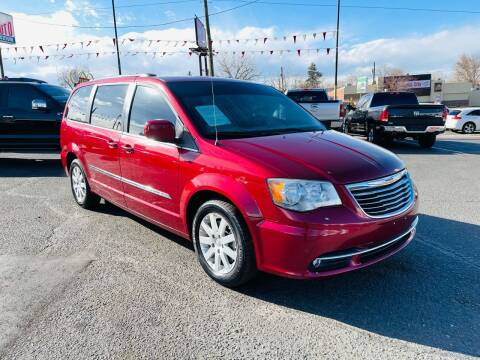 2014 Chrysler Town and Country for sale at Lion's Auto INC in Denver CO