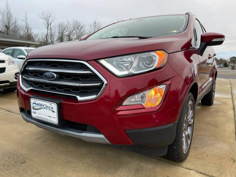 2019 Ford EcoSport for sale at A&C Auto Sales in Moody AL