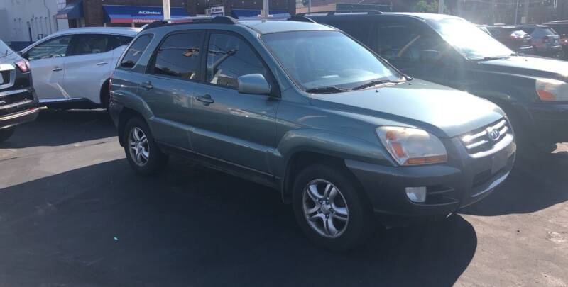 2005 Kia Sportage for sale at N & J Auto Sales in Warsaw IN