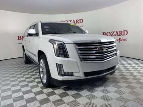 2019 Cadillac Escalade ESV for sale at BOZARD FORD in Saint Augustine FL