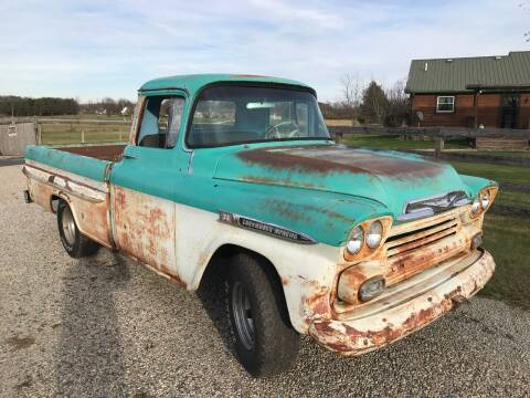 1959 Chevrolet C/K 1500 Series for sale at 500 CLASSIC AUTO SALES in Knightstown IN