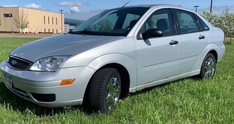 2005 Ford Focus for sale at MATTHEWS AUTO SALES in Elk River MN