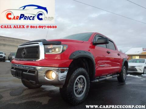 2012 Toyota Tundra for sale at CarPrice Corp in Murray UT