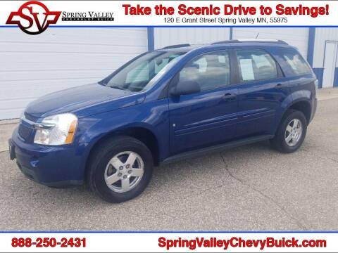 2009 Chevrolet Equinox for sale at Spring Valley Chevrolet Buick in Spring Valley MN